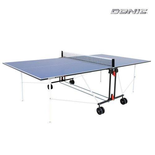 Теннисный стол DONIC INDOOR ROLLER SUN BLUE 16мм недорого купить онлайн