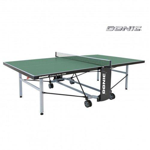 Теннисный стол DONIC OUTDOOR ROLLER 1000 GREEN недорого купить онлайн