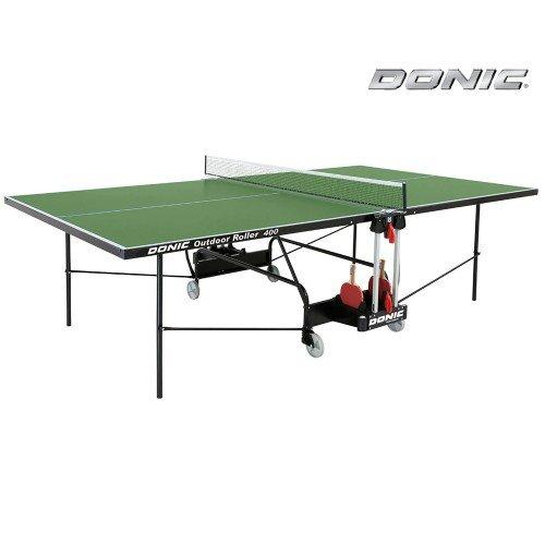 Теннисный стол DONIC OUTDOOR ROLLER 400 GREEN недорого купить онлайн