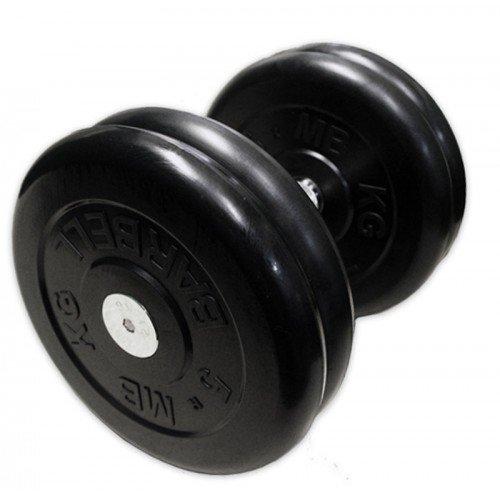 Гантель MB Barbell неразборная черная 11 кг MB-FdbM-B11 недорого купить онлайн