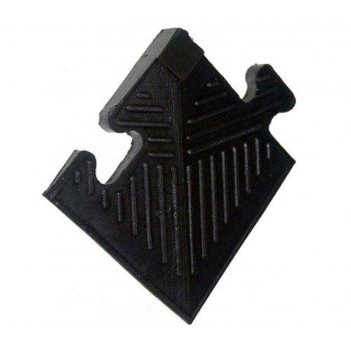 Уголок резиновый для бордюра, черный, толщина 20мм недорого купить онлайн